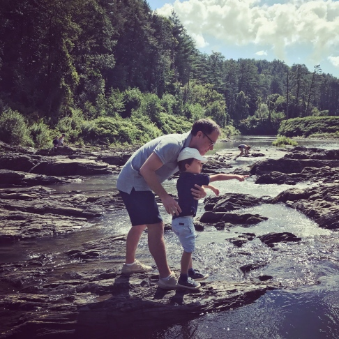 Quechee Gorge trail, VT